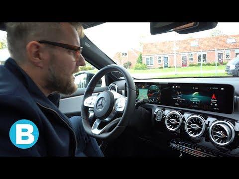 Navigatie met augmented reality en meer tech in de Mercedes A200 getest