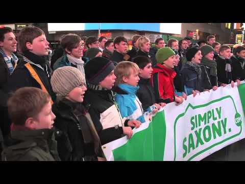 Leipziger Thomanerchor singt in New York  St Thomas boys choir singing in New York