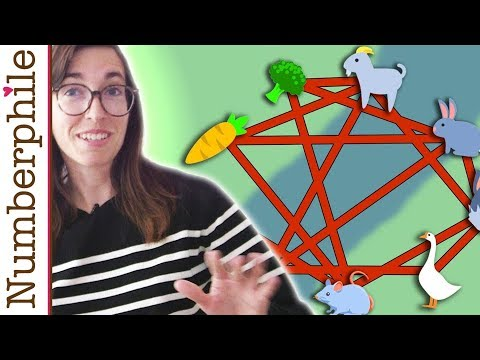 River Crossings (and Alcuin Numbers) - Numberphile