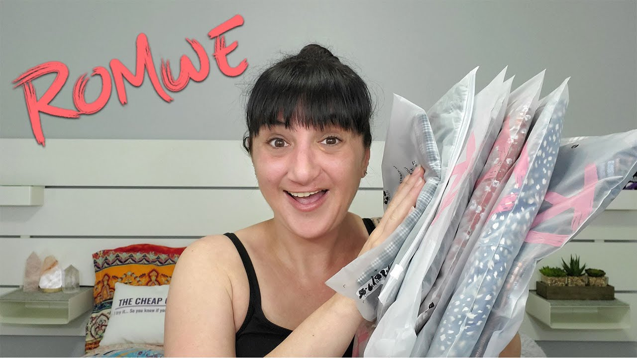 Romwe Haul | April 2021 | Points And Lightning Deals For Epic Prices!