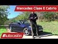 Vídeo Prueba: Mercedes ClaseE Cabrio