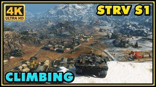 Climbing Strv S1 - 12 Kills - 7K Damage - World of Tanks Gameplay