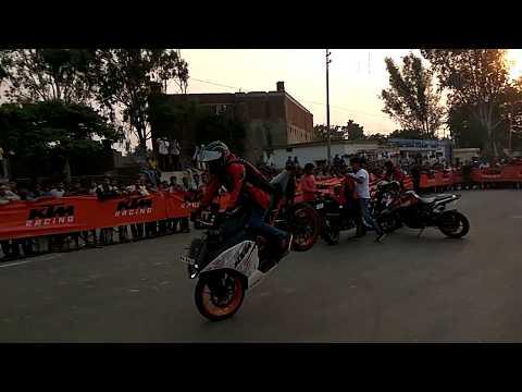 KTM Bikes Show   Stunt mania   Hathras   part 1