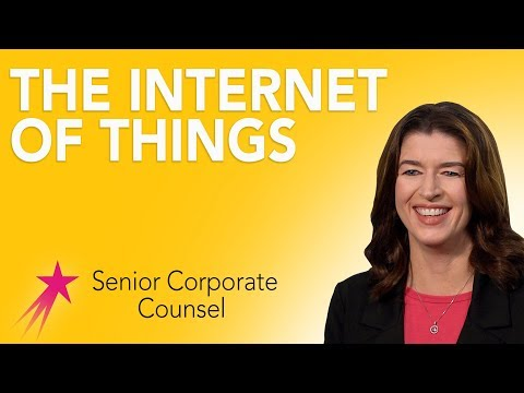 Senior Corporate Counsel: The Internet of Things - Melanie K