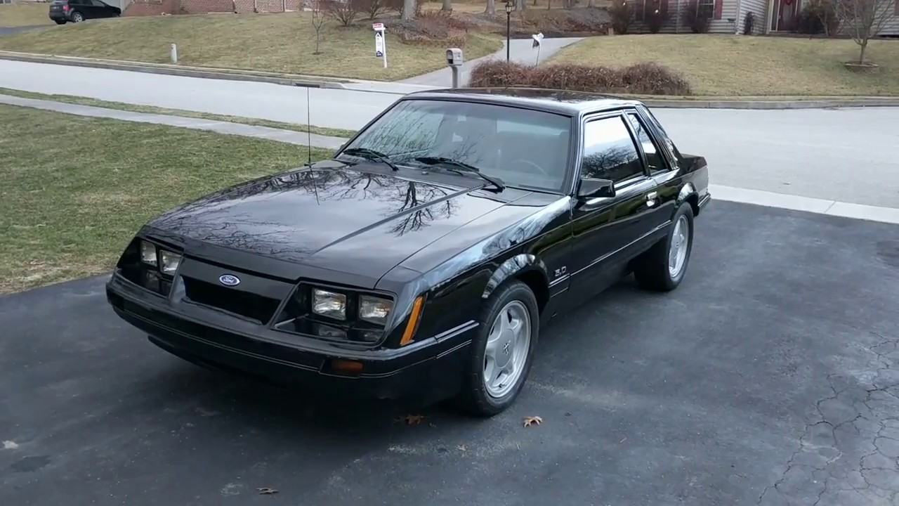 1985 ford mustang lx 5 0 coupe
