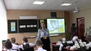 Урок русского языка, 4 класс, Мамутова_А.Е., 2012