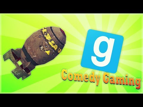 GMOD - Sandbox - Biggest Explosion In GMOD - Nuke Test Site - Comedy Gaming