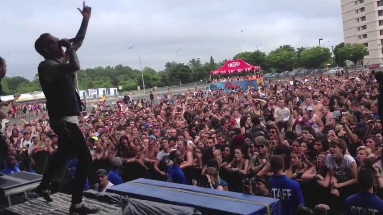 Memphis May Fire - Vices - Uniondale Warped Tour 2013