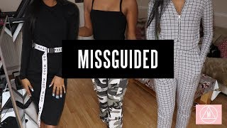 MISSGUIDED CLOTHING HAUL - UNI/COLLEGE OUTFITS??