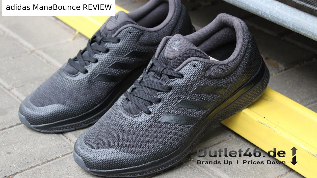 adidas Performance Mana Bounce DEUTSCH Review l On Feet l Haul l Overview l Outlet46