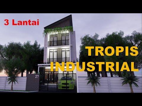 desain-rumah-tropis-industrial