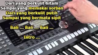 Video Bali Tersenyum Karaoke Keyboard download MP3, 3GP, MP4, WEBM, AVI, FLV Juni 2018