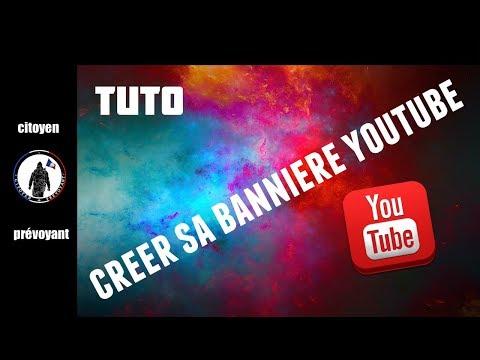 Tuto Créer Une Bannière Personnalisé Pour Youtube Très Facilement