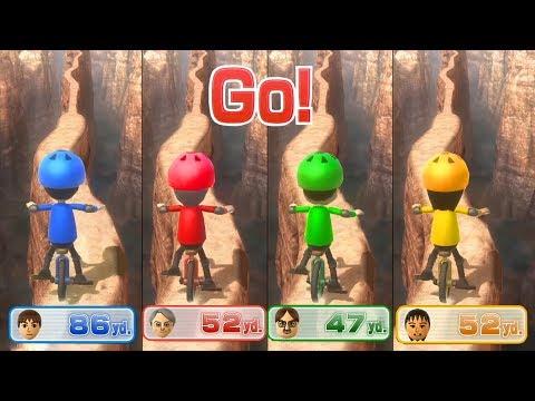 Wii Party U Minigames - Player Vs Frank Vs Marius Vs Cheng-Han(Advanced Difficulty)