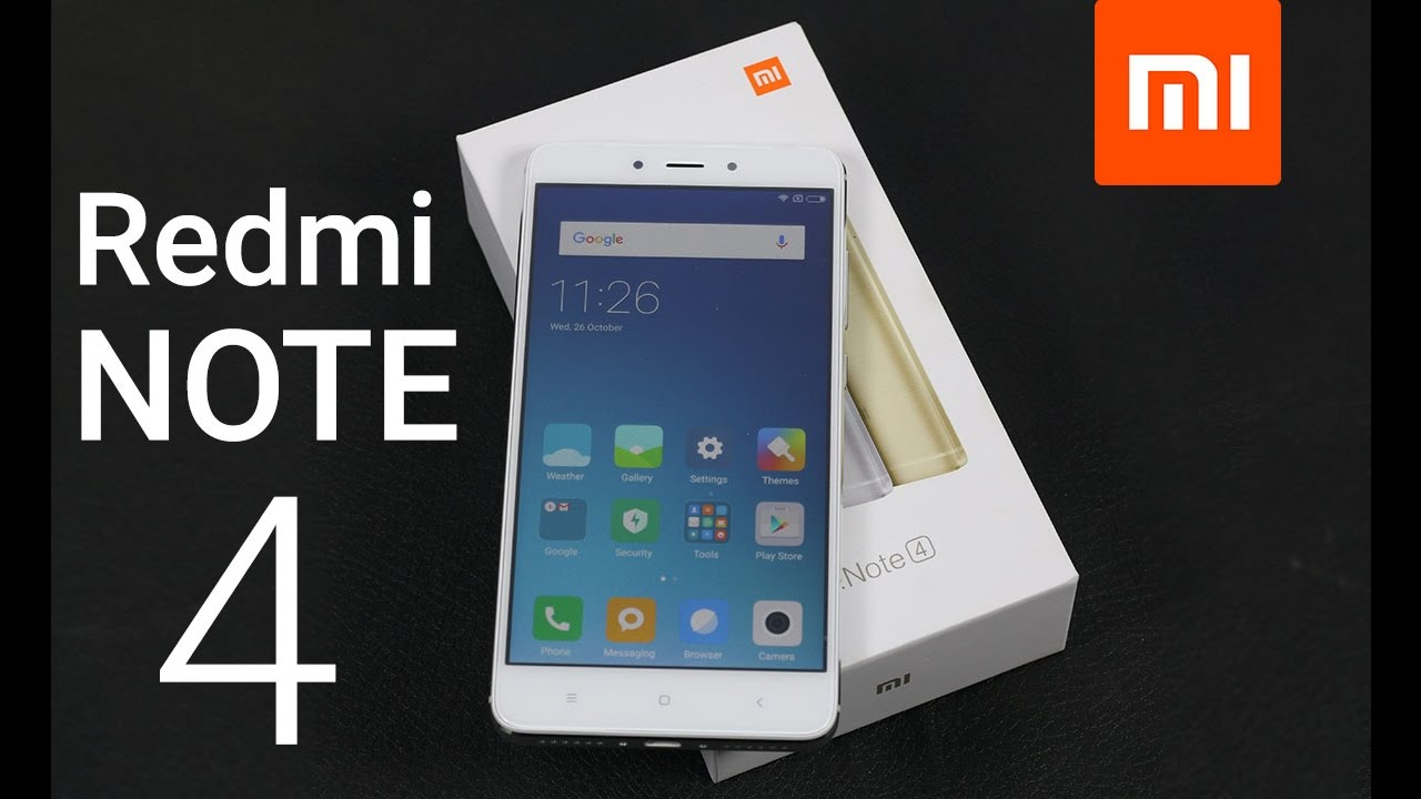 Redmi Note 4 Unboxing: Unboxing & Hands On Review