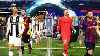 Uefa champions league 2019 final [ucl] - messi vs ronaldo fc barcelona juventus pes 2018
