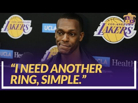 Lakers Nation Interview: Rondo Compares The Young Core to Himself When He Was Learning In Boston