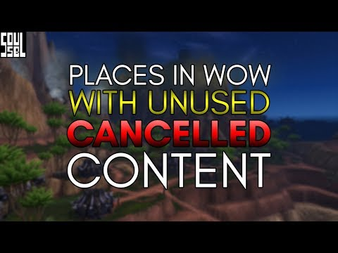 5 Places in World of Warcraft where content was cut!