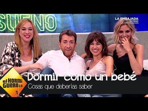 Seis trucos para dormir como un bebé, con Amaia Salamanca y Úrsula Corberó   El Hormiguero 3.0