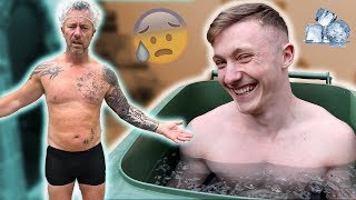 EXTREME RECOVERY ft DAD {Gymnastics Challenge}