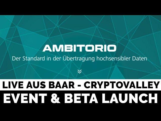 Live aus Baar - Ambitorio Beta Launch