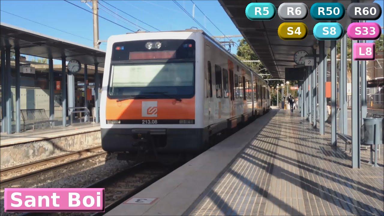 metro fgc barcelona sant boi l8 s4 s8 s33 r5