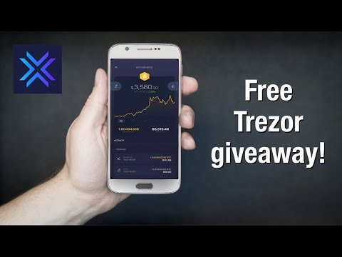 Exodus Mobile Wallet Tutorial & Review! (Plus A Trezor GIVEAWAY)