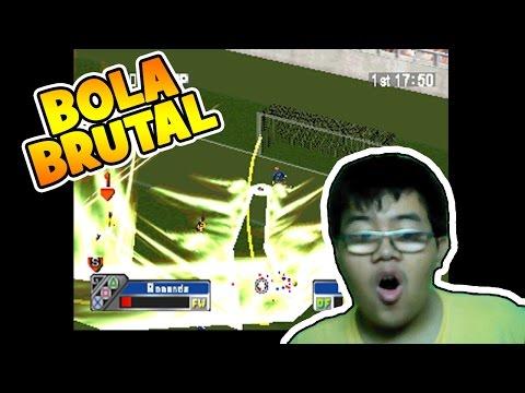 GAME PS1 #2 Super Shot soccer ! BOLA BRUTAL !