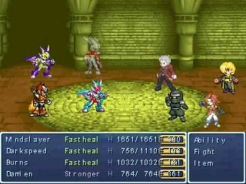 my rpg maker 2003 game the hero s struggle tower of elyul