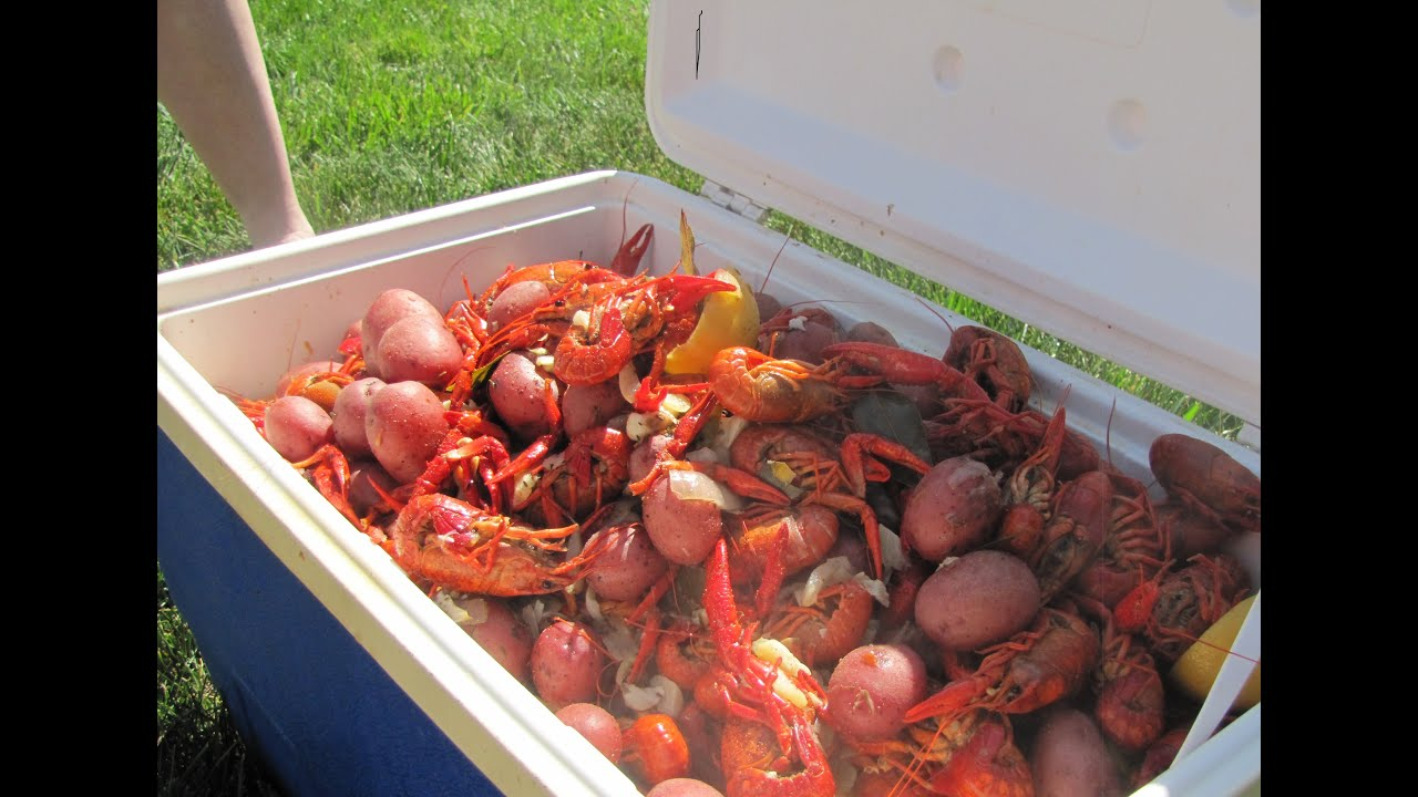 Our First Crawfish Boil And We Had A Blast