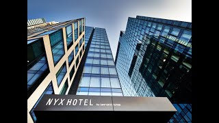 Welcome to NYX Hotel Warsaw, a modern artwork in the form of a hotel