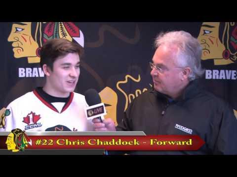 CCHL Interview Chris Chaddock