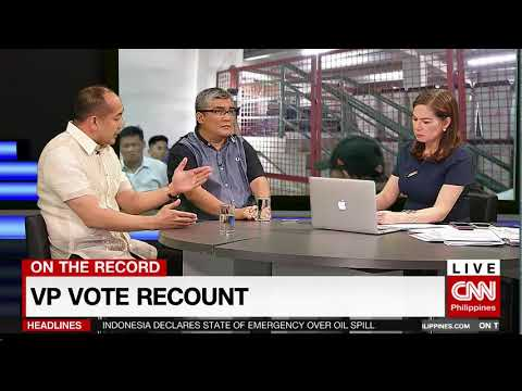 On the Record: VP Vote Recount