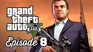Grand Theft Auto 5 Walkthrough Part 8 - Casing the Jewel Store ( GTAV Gameplay Commentary )