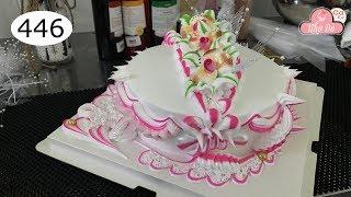 chocolate cake decorating bettercreme vanilla (446) Học Làm Bánh Kem Đơn Giản Đẹp - Bánh Cưới (446)
