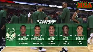 Milwaukee Bucks vs Chicago Bulls - Oct 06, 2017 - Full Game Highlights - NBA Preseason