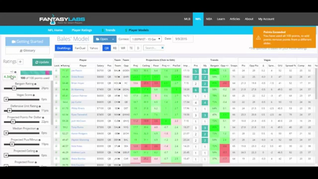 FantasyLabs for Android - APK Download