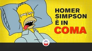 Homer Simpson è in COMA da 20 Anni.