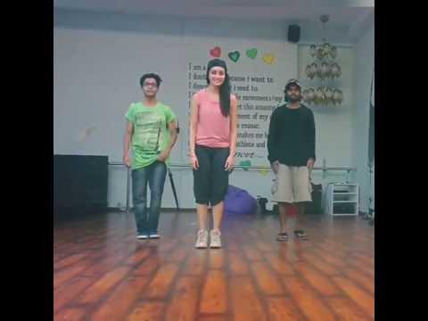 ABCD 2 rehearsals  shraddha kapoor ♥