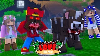 Minecraft LOVE ISLAND - LITTLE ROPO TURNS INTO A WEREWOLF!!