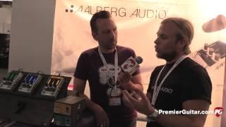 Musikmesse '15 - Aalberg Audio Trym TR-1 Tremolo & Rom RO-1 Reverb Demos