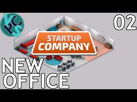 Startup Company EP02 - New Office - Beta 13.5 Software Developer Tycoon Gameplay