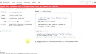 Wie adgroup erstellen | anzeigen in AdWords | ad-Optimierung, Kampagnen-Optimierung