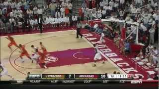 #6 Syracuse vs Arkansas 11/30/12 (Full Game)
