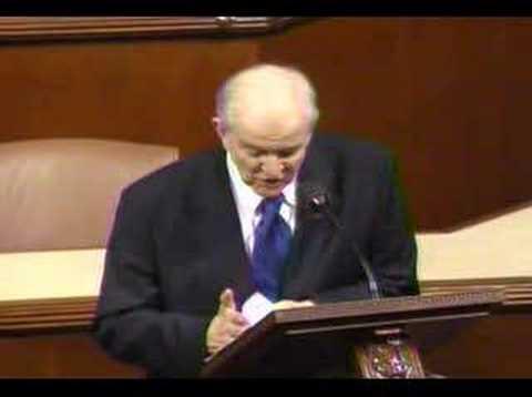 Congressman Johnson (R-TX) Floor Speech (02.16.07)