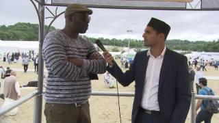 Comportement exemplaire d'un musulman de France