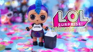 Unbox Daily:  LOL SURPRISE WAVE 2 Ultimate Haul!! Lil Punk Boi   Dawn   Pets & More