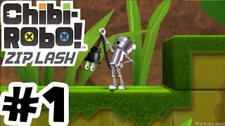 Chibi-Robo! Zip Lash - Gameplay Walkthrough Part 1 - 3DS 60FPS