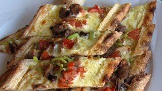 Pide Pizza - Turkey Eats Series 2012