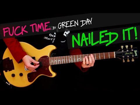 Fuck Time - Green Day cover by GV (exactly like the band plays) +chords